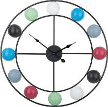 Beliani - Orologio da parete multicolore REIDEN