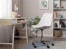 Beliani - Sedia da scrivania senza braccioli