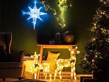 Beliani - Set di 2 decorazioni da esterno renne