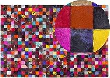 Beliani - Tappeto colorato Patchwork 200x300 cm