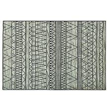 Beliani - Tappeto nero/grigio 160 X 230 cm KEBAN