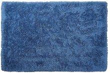 Beliani - Tappeto pelo lungo 140 x 200 cm Blu CIDE