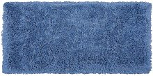 Beliani - Tappeto pelo lungo 80 x 150 cm Blu CIDE