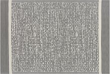 Beliani - Tappeto per esterni grigio 120 x 180 cm