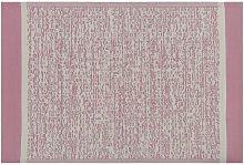 Beliani - Tappeto per esterni rosa 120 x 180 cm