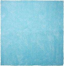 Beliani - Tappeto shaggy azzurro 200 x 200 cm DEMRE
