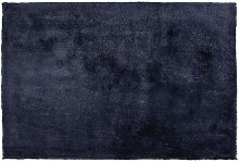 Beliani - Tappeto shaggy blu scuro 200 x 300 cm