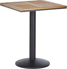 Beliani - Tavolo da balcone 60 x 60 cm in legno