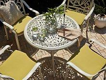 Beliani - Tavolo da giardino rotondo ø 90 cm in