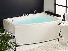 Beliani - Vasca da bagno con idromassaggio