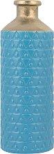 Beliani - Vaso decorativo blu ARSIN