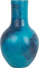 Beliani - Vaso decorativo blu BOSTRA