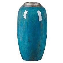 Beliani - Vaso decorativo blu MILETUS