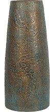 Beliani - Vaso decorativo oro con turchese SEGOVIA