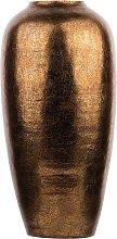 Beliani - Vaso decorativo oro lucido LORCA