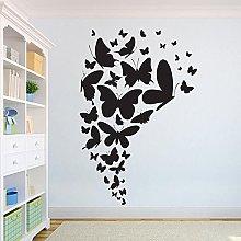Bella farfalla adesivo da parete per bambini