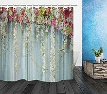 Bellissimi fiori colorati Tenda da doccia per