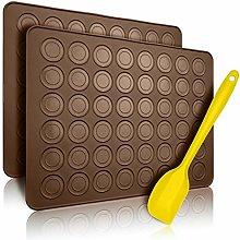 Belmalia 2x Stampi in Silicone Macarons per