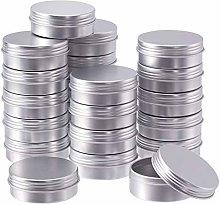 BENECREAT 24 Pack 25ml Lattina di Alluminio