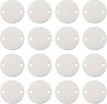 BENECREAT 30 PCS Etichette in Alluminio per