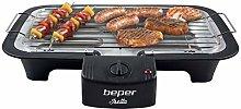 Beper barbecue elettrico 45x35x8.5 cm 2000W
