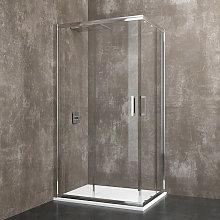 Berna - Box doccia rettangolare 75x90x185 cm