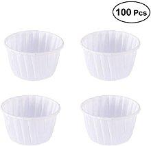 BESTonZON 100pcs Muffin Cup Liners bigné oleata
