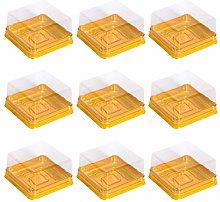 Bestonzon, 50 scatole quadrate in plastica per