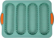 BESTonZON Antiaderente in Silicone Pan 4 Griglia