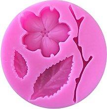 BESTonZON Stampo in Silicone Peach Blossom Branch