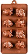 BESTonZON Stampo in Silicone per Cioccolatini