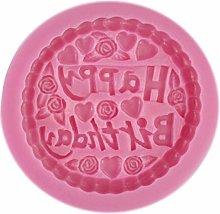 BESTONZON - Stampo in silicone per dolci,