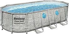 BESTWAY - 56716 - Piscina Ovale Swim Vista Con