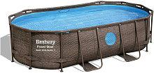 Bestway - Piscina power steel swim vista 56714