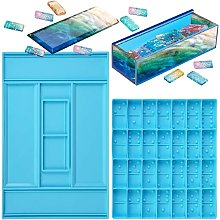 Betterlifeit - MOULLE RESIN Domino Stampo Stampo