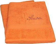 Betz. Set di 2 Asciugamani da Sauna Telo da Sauna