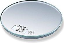 Beurer Bilancia da Cucina KS 28 5 kg Argento -