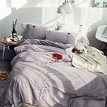 Biancheria da letto Copripiumino matrimoniale,