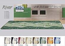 BIANCHERIAWEB Tappeto da Cucina Disegno River