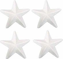 Bianco Schiuma Star Craft Polistirolo: 10Pcs 18