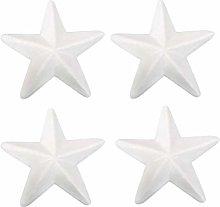 Bianco Schiuma Star Craft Polistirolo: 10Pcs 27
