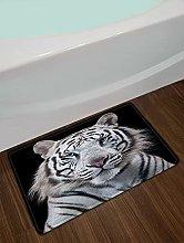 Bianco Tigre Decorazione Della Casa Porta