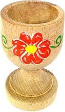 Bicchiere porta uovo in legno di faggio