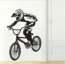 Bicicletta Ragazzo Adesivo Da Parete Decalcomania