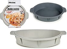 BigBuy Home S3606717 Stampo per Torte in Silicone,