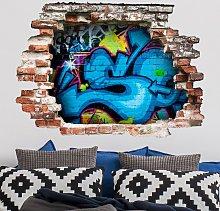 Bilderwelten - Adesivo murale 3D - Colours Of