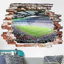 Bilderwelten - Adesivo murale 3D - Football