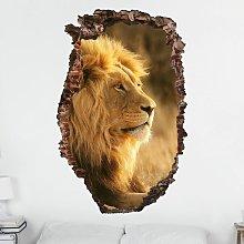 Bilderwelten - Adesivo murale 3D - Lion King -