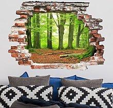 Bilderwelten - Adesivo murale 3D - Mighty Beech