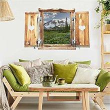 Bilderwelten Adesivo murale Alpi E Le Montagne